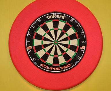 Unicorn: мишень Эклипс Про (Unicorn's Eclipse Pro dartboard) на фото