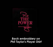 Phil 'The Power' Taylor Dart Shirt